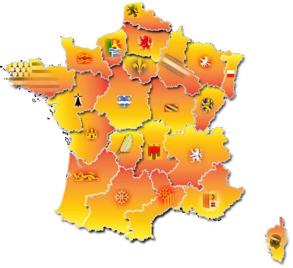 carte de france des camping CAMPINGS MUNCIPAUX I Carte de France